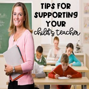 Twenty Tips To Support Your Child's Teacher - Kreative in Life