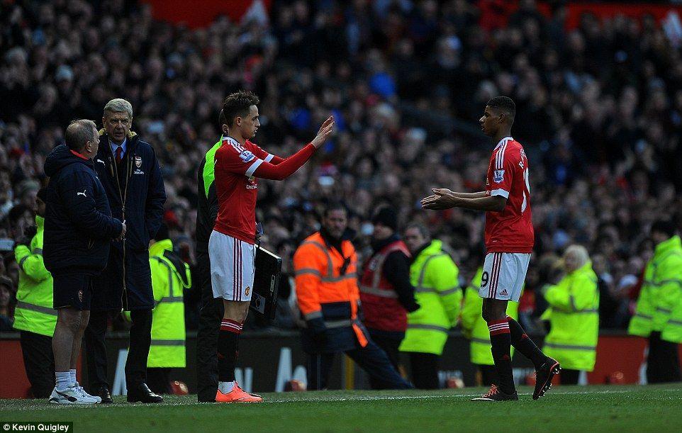 Manchester United and Belgium winger Adnan Januzaj came