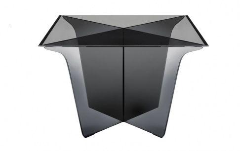 Couchtisch Mister X aus Glas bei Roche Bobois