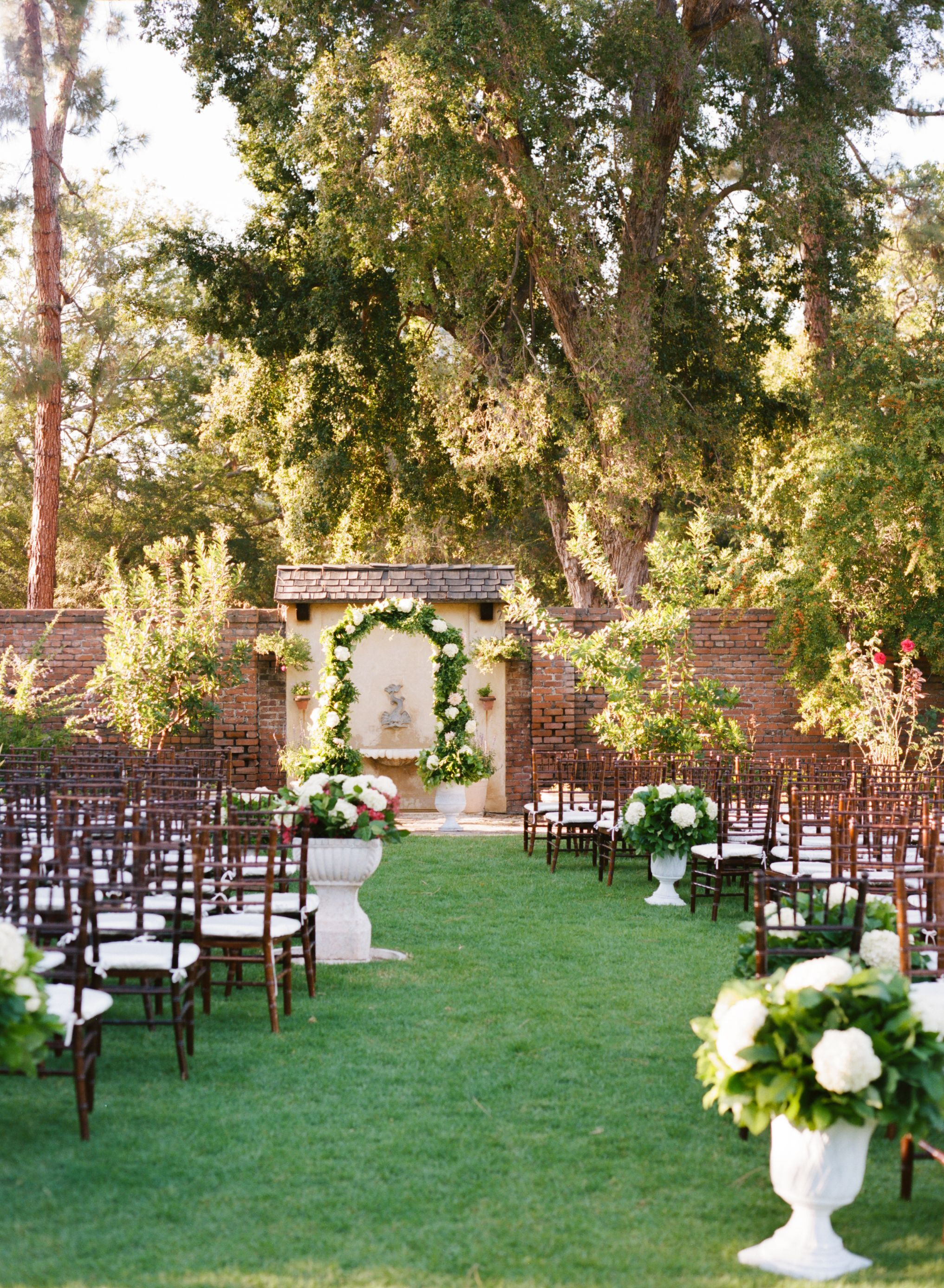 Marston House, Garden Wedding, San Diego