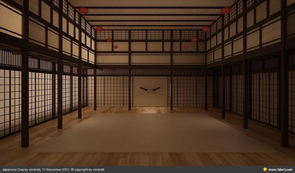 Japanese Dojo By Elrondd Community For Cg Artists