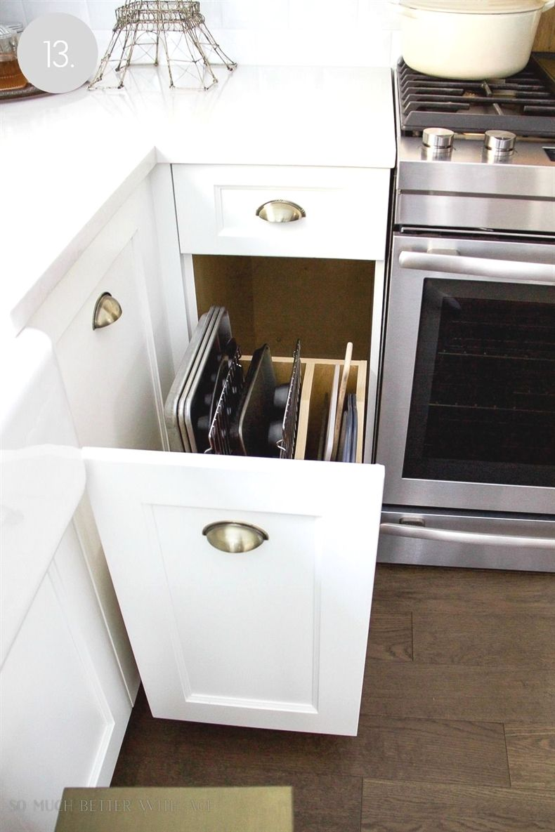 Kitchen Cupboard and Drawer Organization #kitchencabinetsorganization