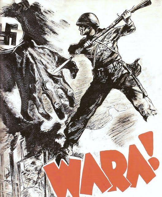 Polski Plakat Propagandowy Druga Wojna światowa Plakat