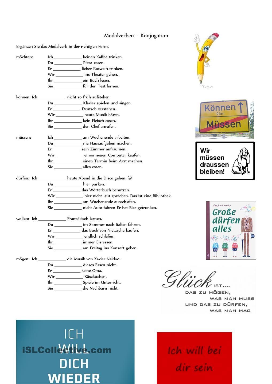 Worksheets Learning German Worksheets pin by carmen perez de la cruz on german modal verben pinterest grammar language learn worksheets germany student centered resources menu education
