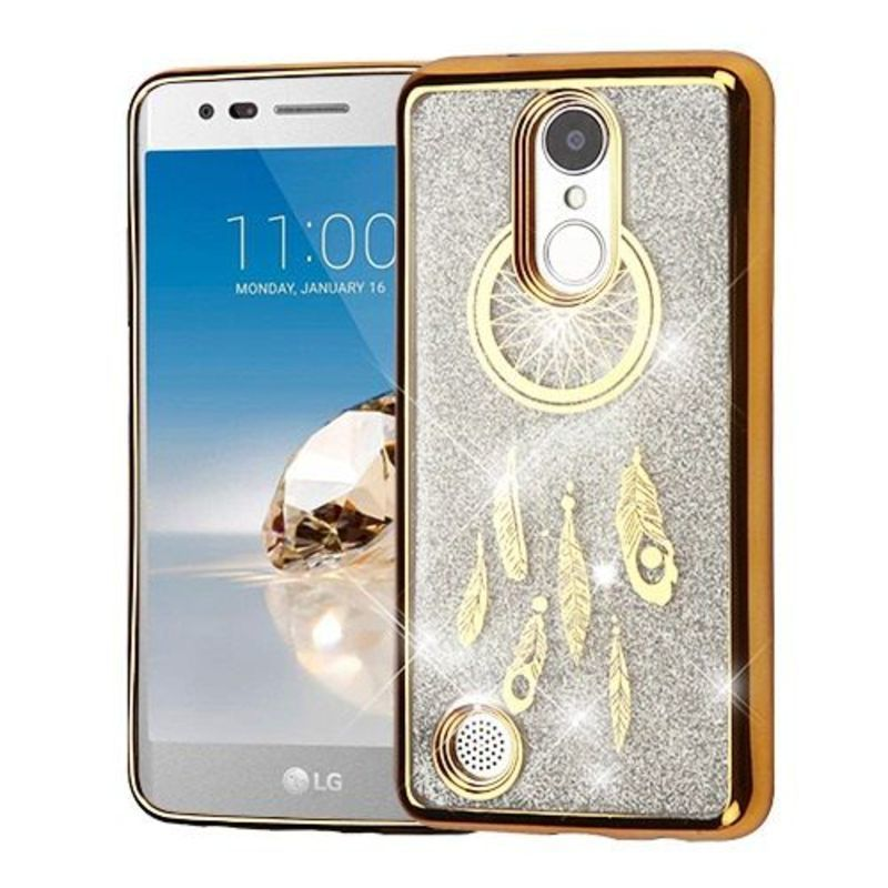 Insten Hard Snap-on Chrome Case Cover For LG Aristo/ Fortune/ K4