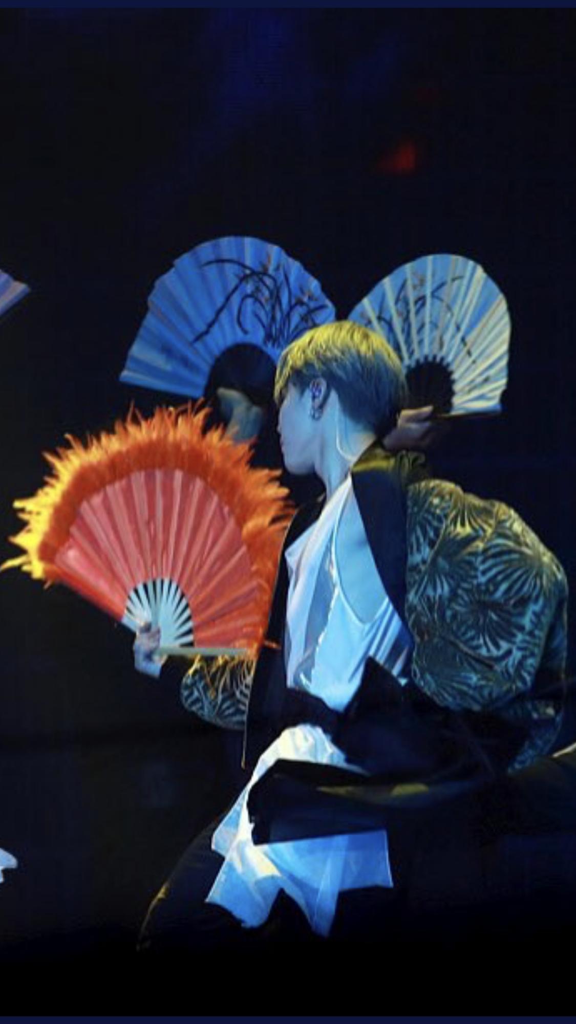 Jimin Idol Fan Dance Bts 181201 Mma Melon Music Awards Jimin Park Jimin Fan Dance