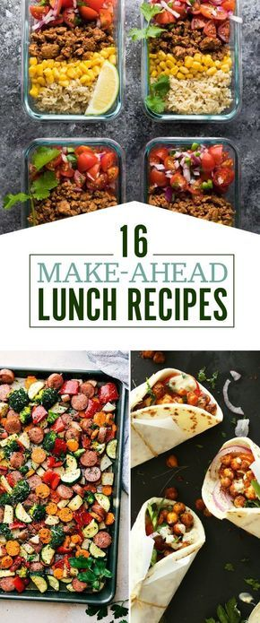 16 Make-Ahead Lunch Recipes That Are Perfect For Bringing To Work images