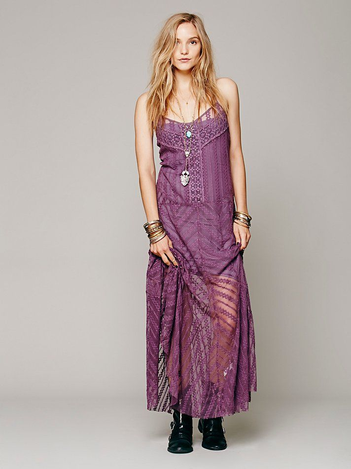 4dabe7d84d Free People Meadows of Lace Slip, zł 630.29 | Fashion - Violet ...