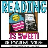 Reading is Sweet!  Informational Writing for Dr. Seuss Week!