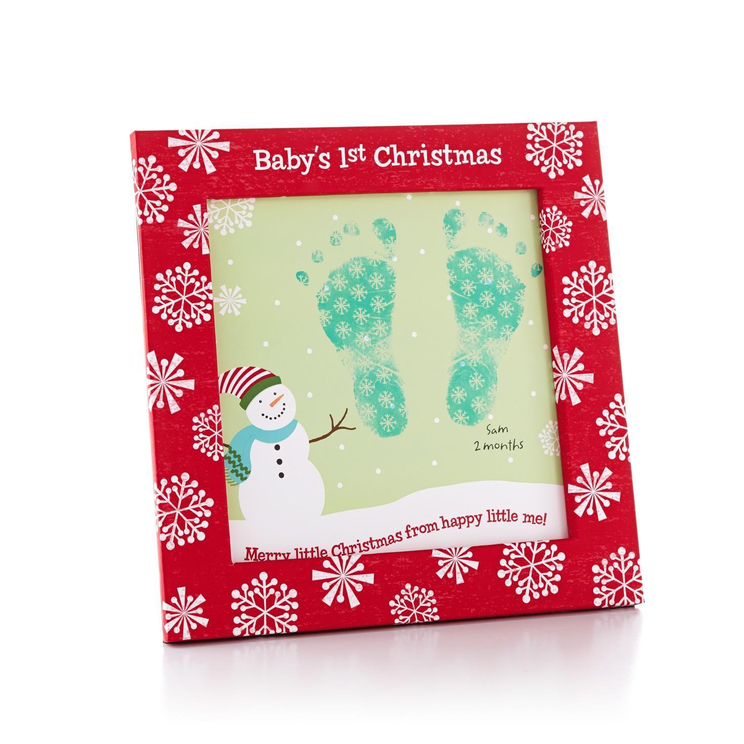 Babys First Christmas Frame  Christmas Gift - Hallmark