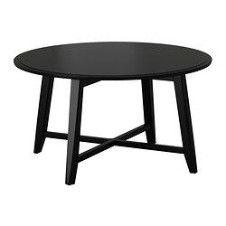 KRAGSTA Sofabord, sort - 90 cm - IKEA