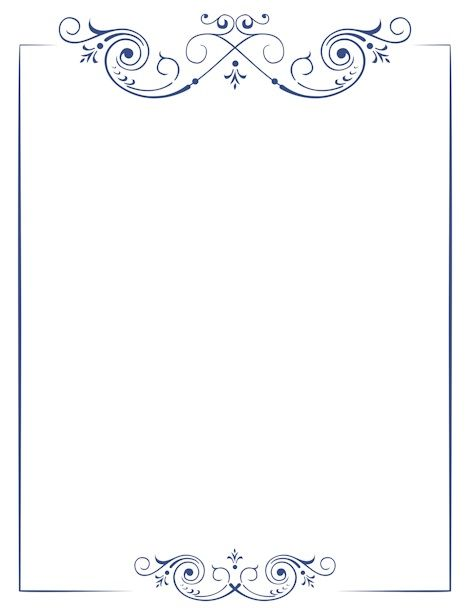 Pin by Mirela Mara on Templates Pinterest Doodles, Silhouettes - paper border templates