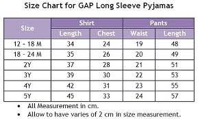 Image Result For Gap Kids Size Chart