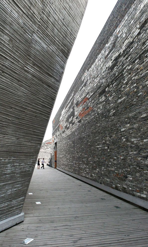 Ningbo History Museum, China by Wang Shu of Amateur Architecture