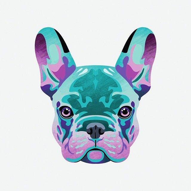 Frenchie By Acidouss French Bulldog Art French Bulldog Drawing