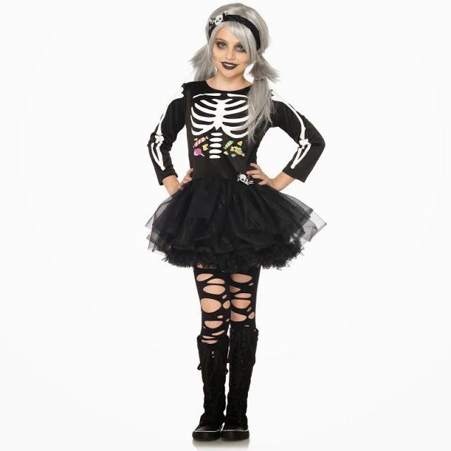 disfraces infantiles originales halloween esqueleto