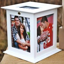 Wedding Card Box in white for DIY bride