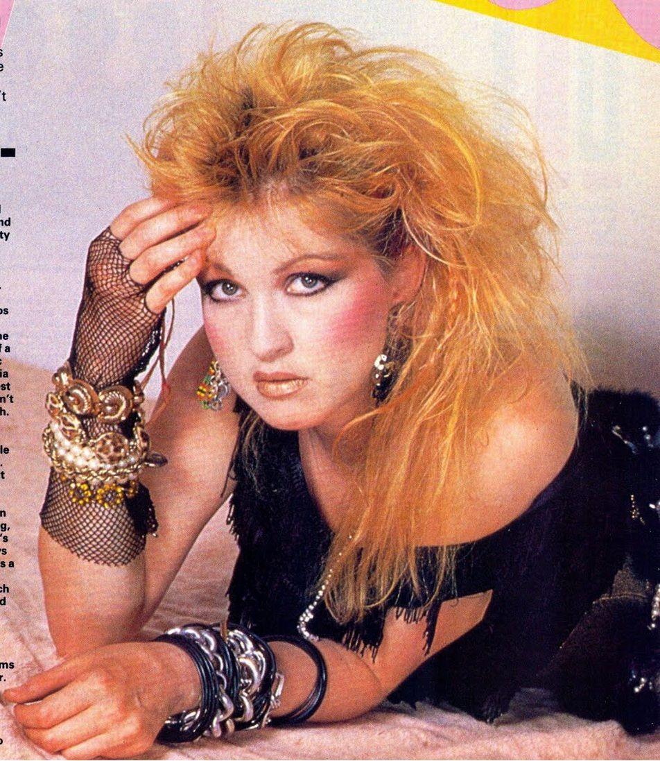 cyndi lauper 80s fashion - Google Search | Music 3 ...