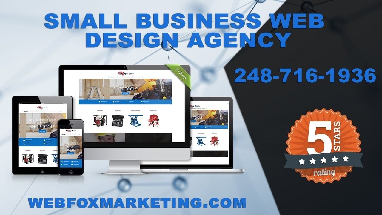 Small Business Web Design In Canton Michigan Https T Co Wbw0xpynv5 Via Youtube Webfox Marketing Small Business Web Design Web Design White Lake Michigan