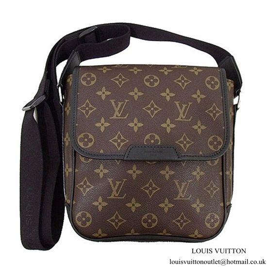 cd85de430db4 Louis Vuitton M56717 Bass PM Messenger Bag Monogram Canvas