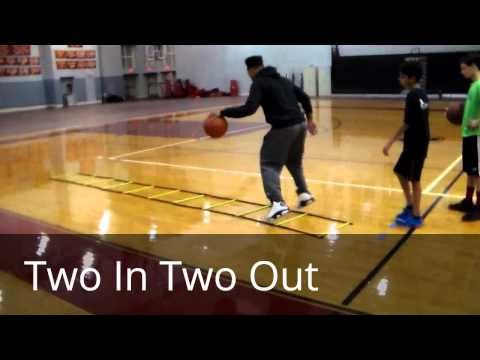 Premier Hoops 9 Good Basketball Ladder Drills Youtube With