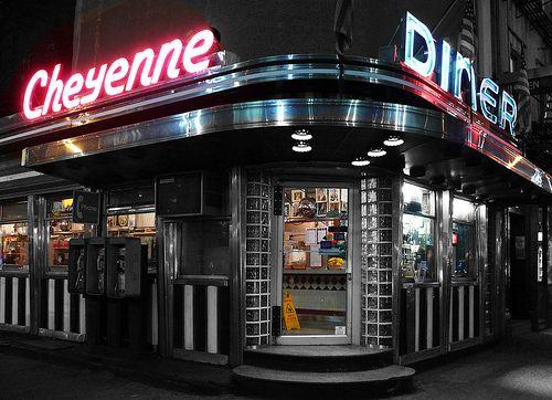 Diner At 33rd 9th New York Diner Restaurant Diner Vintage Diner