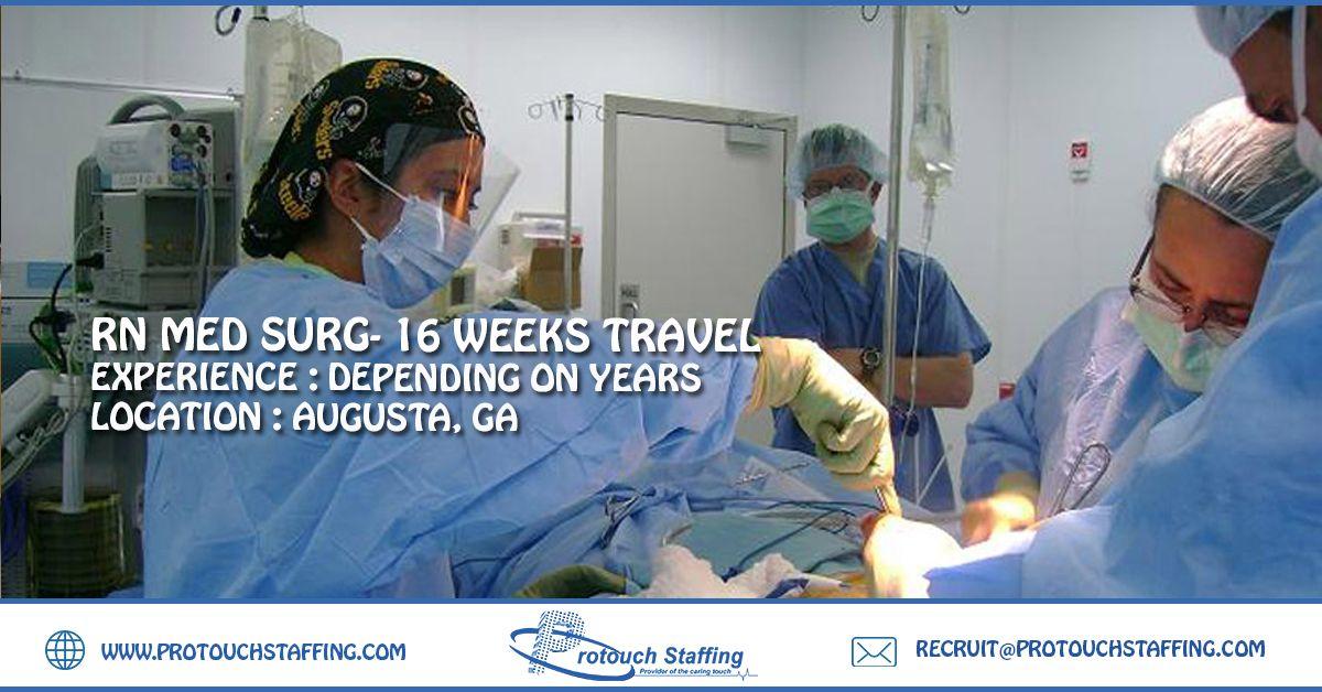 RN Med Surg 16 Weeks Travel Med surg, Nursing process