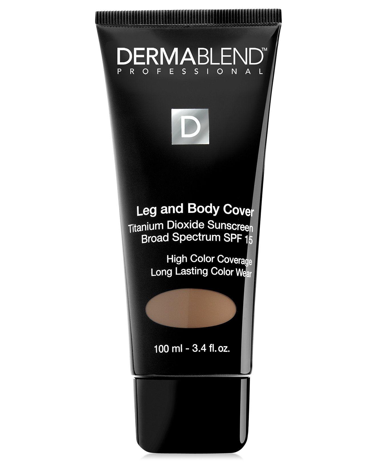 Dermablend Leg & Body Cover, 3.4 oz Dermablend, Spf 15