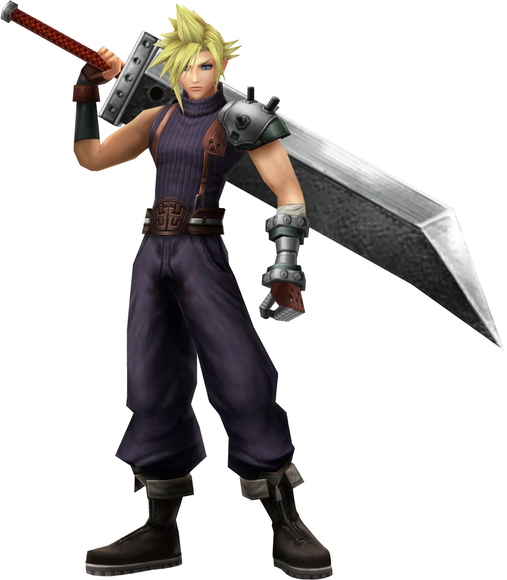 Cloud Strife Other Appearances Final Fantasy Wiki Fandom Powered By Wikia Cloud Strife Final Fantasy Characters Final Fantasy Tactics