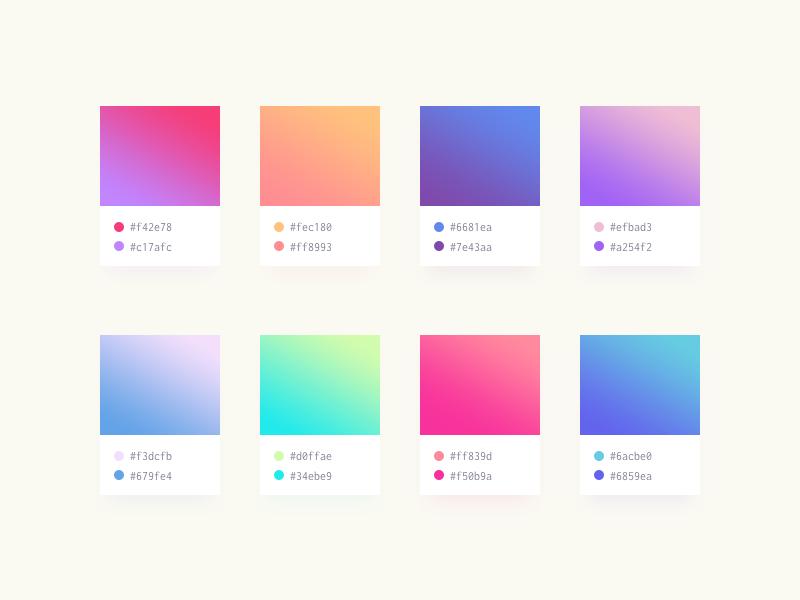Soft Gradients Etch D Xd Design Inspiration Pinterest