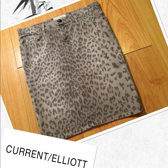 Current Elliott printed skirt Current Elliott printed skirt excellent condition Current/Elliott Skirts Pencil