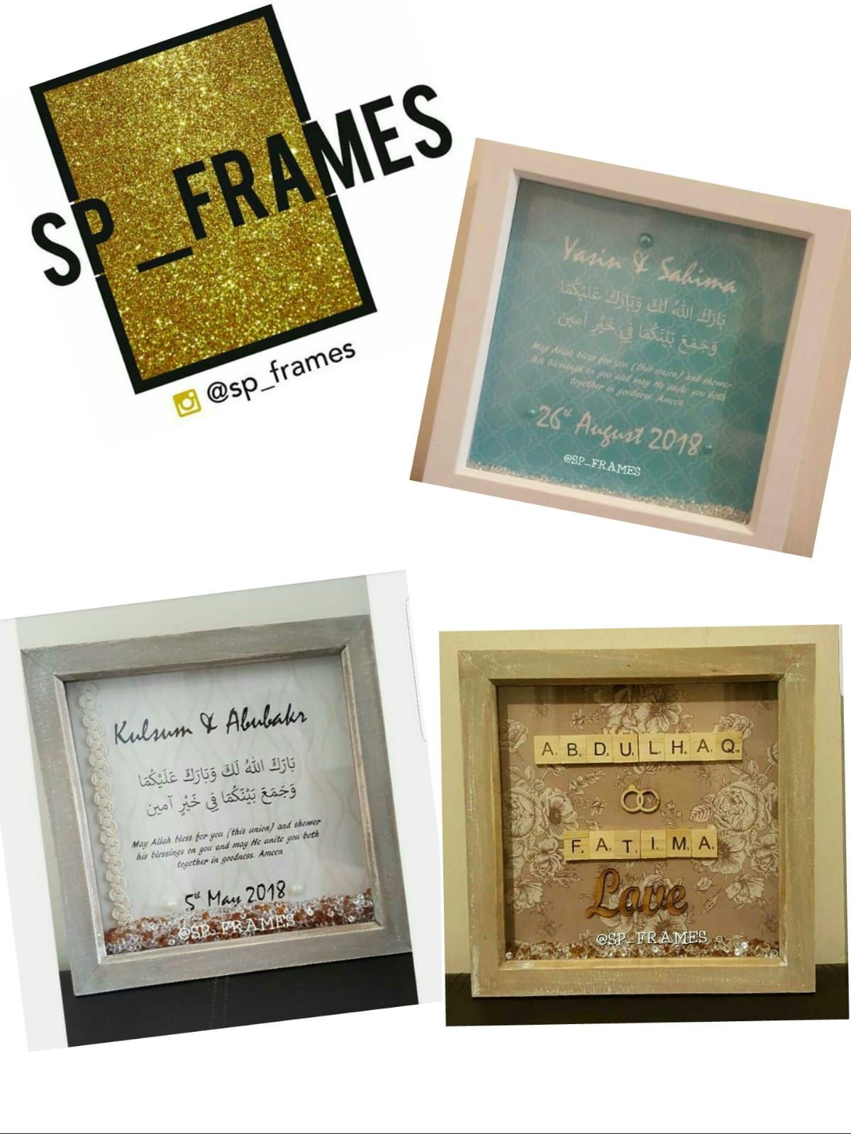 SP Frames - Custom made frames for any occasion.   Favours & Gifts ...