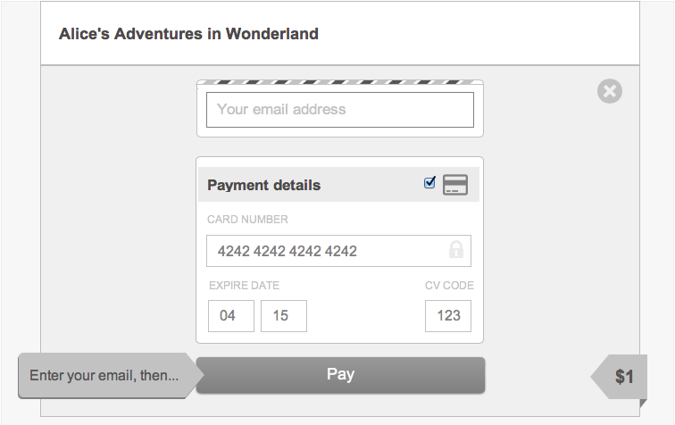 Payment By Credit Card Form   User Interface Design Pattern By Gumroad +  Wireframe Templates |