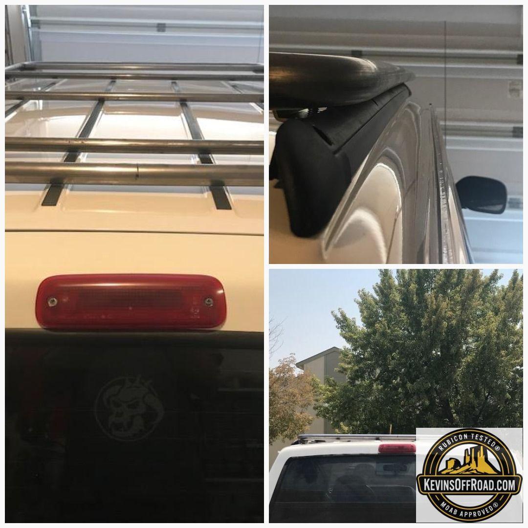 Jeep Cherokee XJ RoofNest Roof Top Tent Platform Roof Rack