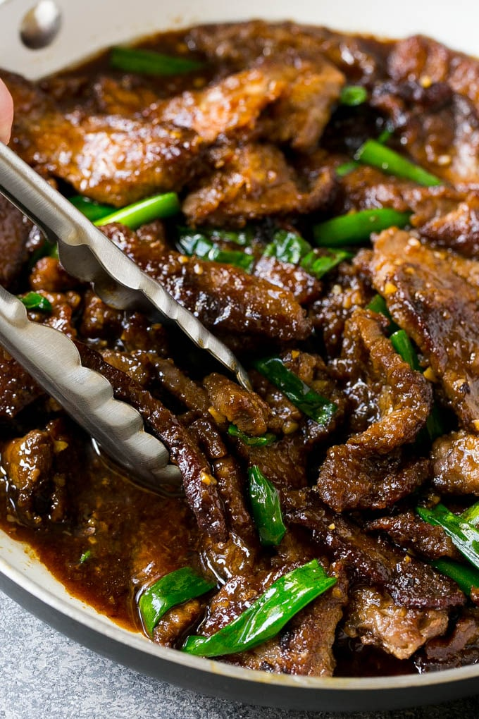 Mongolian Beef Recipe Asian Beef Recipe Chinese Beef Beef Stir Fry Chinese Mongolian Asian Mongolianb Beef Dinner Mongolian Beef Recipes Spicy Dishes