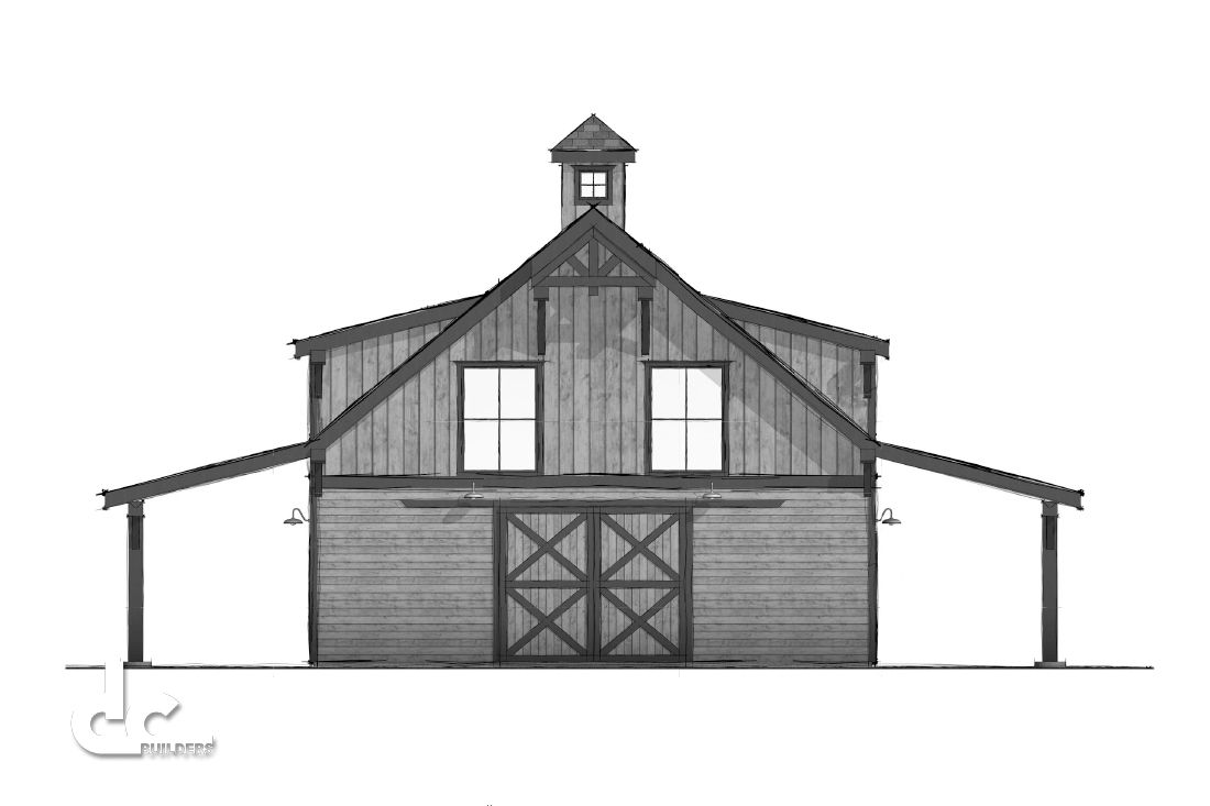 Custom Apartment Barn Design In Bozeman, Montana | DC Building ...