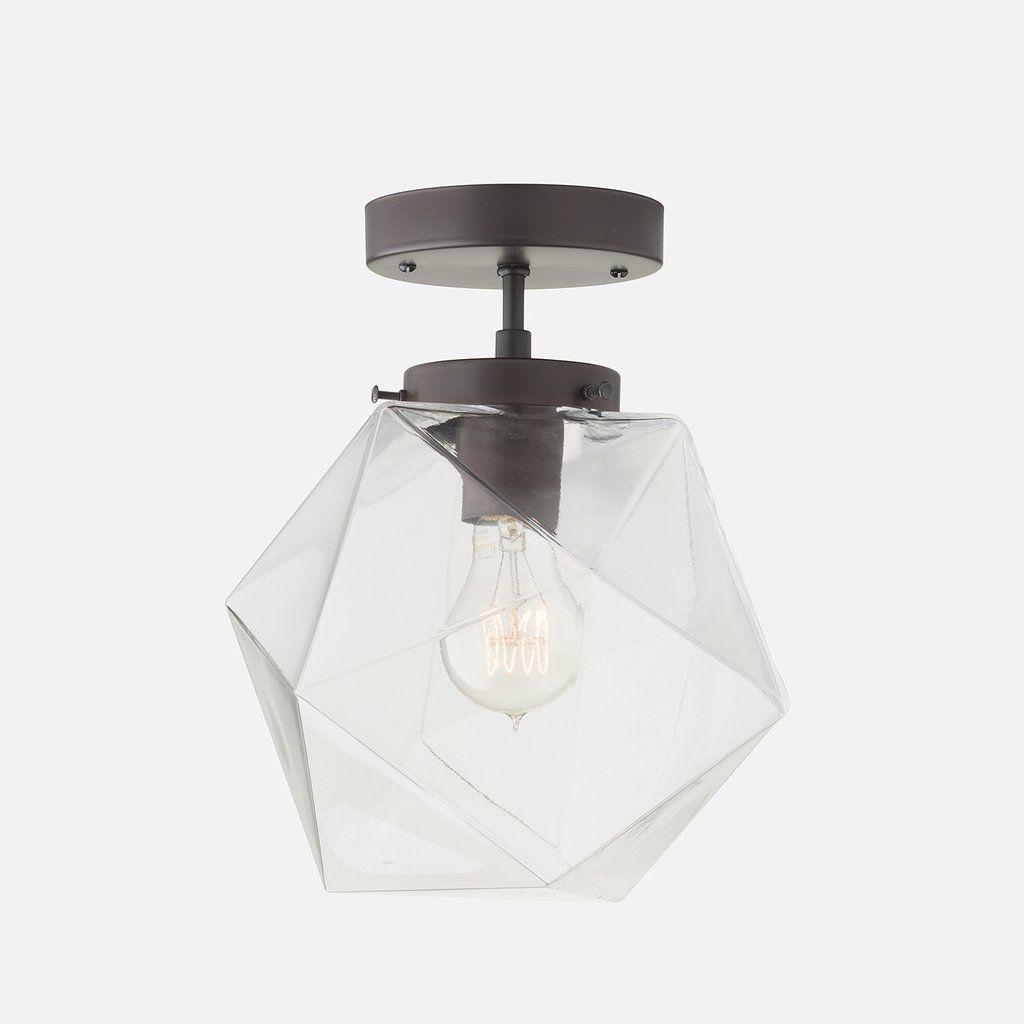 fuller clear glass schoolhouse lighting clear glass rh pinterest com