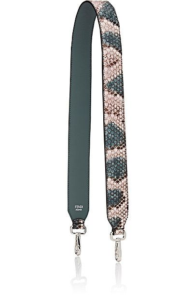 """We Adore: The """"Strap You"""" Python Shoulder Strap from Fendi at Barneys New York"""