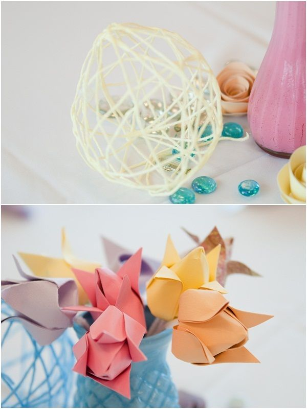 DIY Paper Wedding Sunday Romance Photography 10