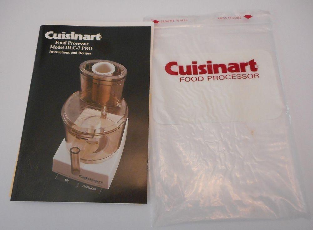 Cuisinart food processor model dlc 7 pro instruction and recipe book cuisinart food processor model dlc 7 pro instruction and recipe book manual 1982 forumfinder Image collections