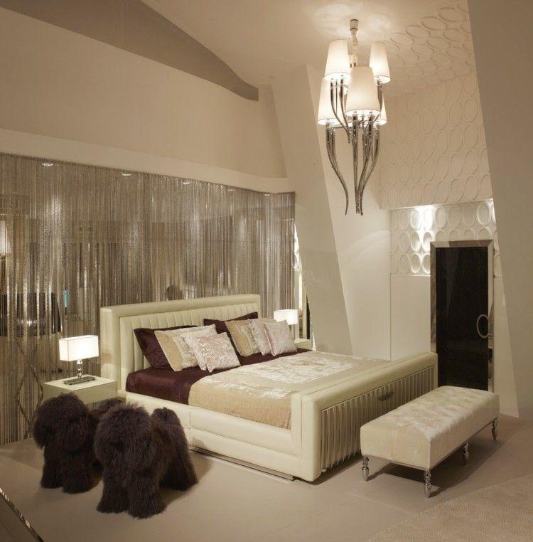 Habitaci n de color beige con brillos decoraciones home - Habitaciones color beige ...