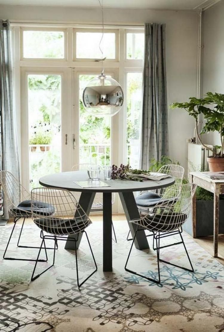 68 awesome round dinning table design ideas furniture pinterest rh pinterest com