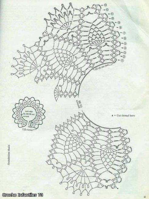 Радикал-Фото: Картинка | Diagra crochet 1 | Pinterest | Ponchos y Arte