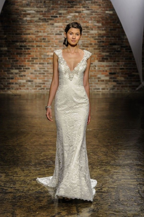 Alvina Valenta Fall 2014 Wedding Dresses Wedding