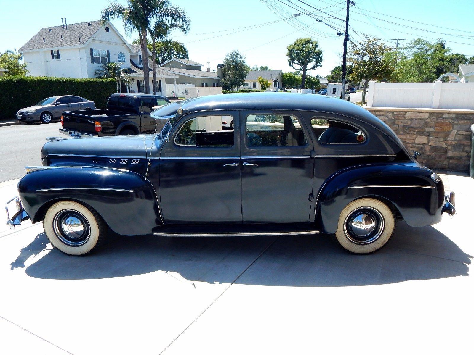 1940 DeSoto Sportsman Pre-War Mid-Year Sedan   Sedans, Motor car and ...