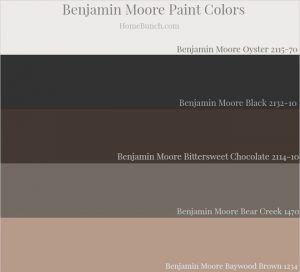 Benjamin Moore Oyster 2115 70 Benjamin Moore Black 2132 10 Benjamin Moore Bittersweet Chocolate Decor Color Palette House Color Schemes Benjamin Moore Exterior