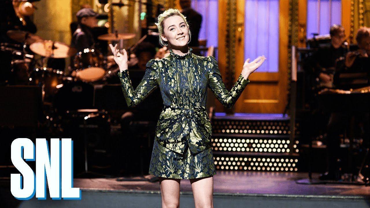 Saoirse Ronan Monologue - SNL | Saturday night live ...