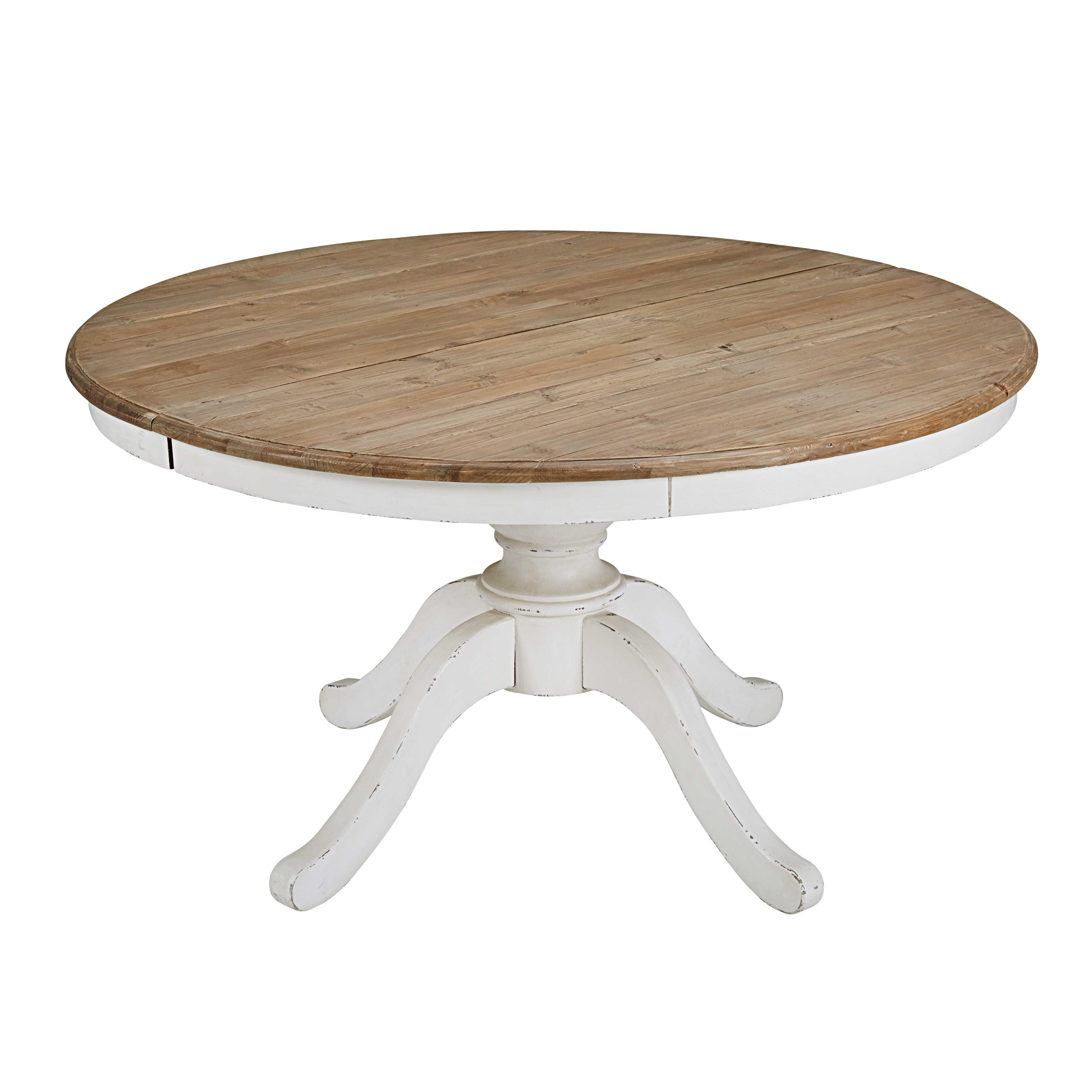 round extendable dining table l 140cm provence table a manger ronde extensible table a manger ronde salle a manger table ronde