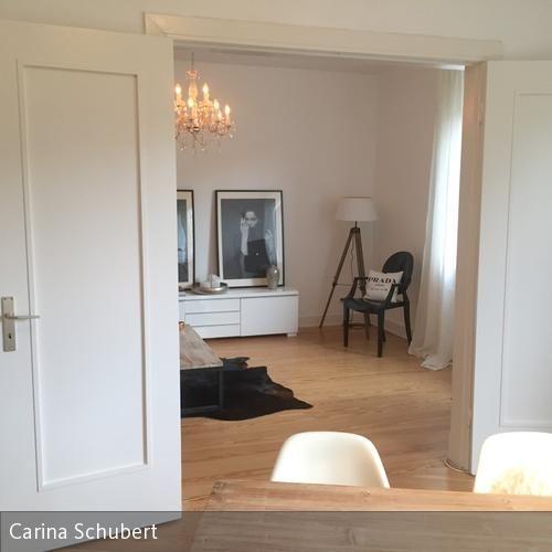 Blick Vom Esszimmer Ins Wohnzimmerhamburg Altbau Interior Inspiration Ghist