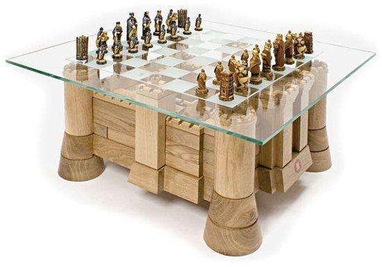 Castle Jigsaw Tables  Chess Coffee Table